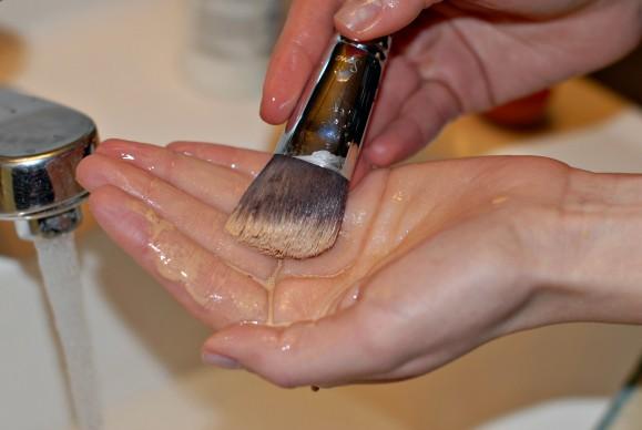 brush wash