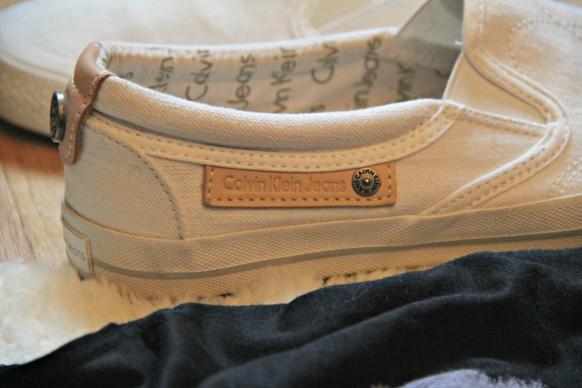 calvin klein jeans tennis shoe