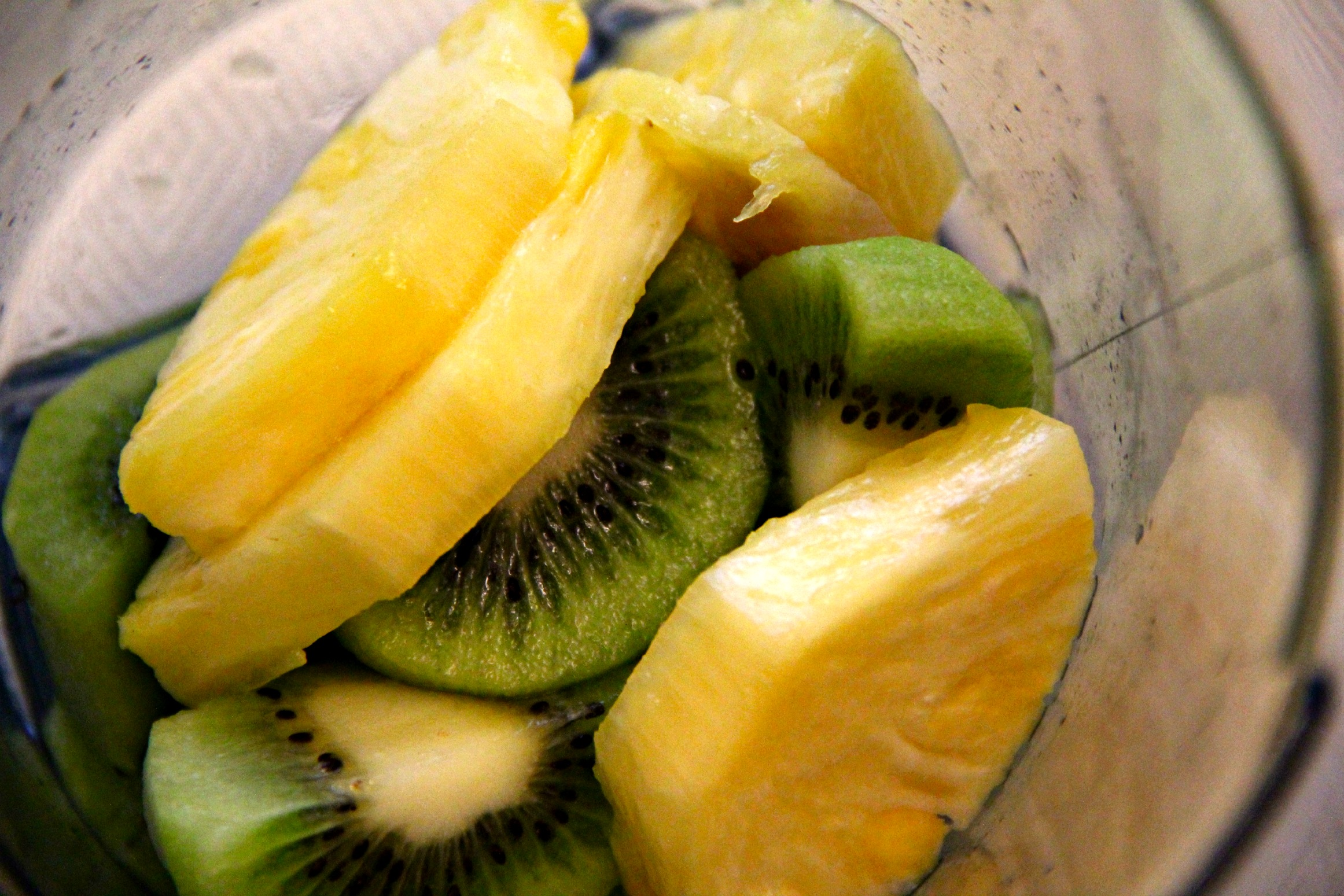 kiwi and pineapple