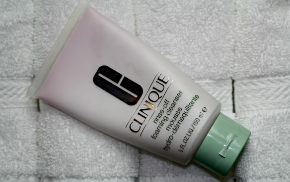 clinique rinse off foaming cleanser review
