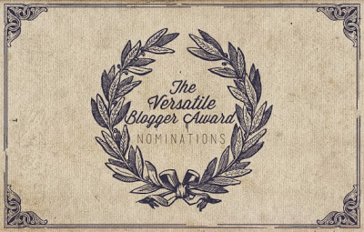 Versatile Blogger Award-I was nominated!