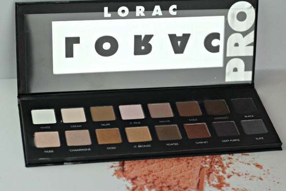 lorac pro palette 2013