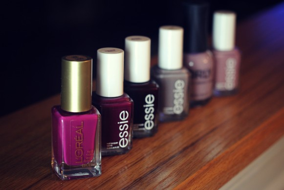 Nail polishes of the moment