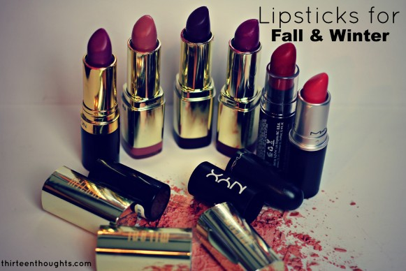 favorite lipstics for fall and winter 2013