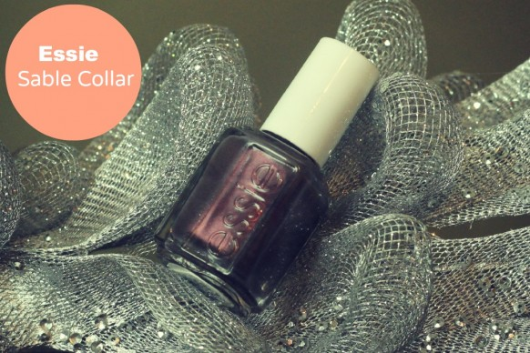 Essie sable collar swatch