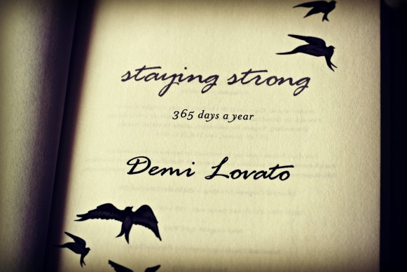staying strong 365 days demi lovato pdf