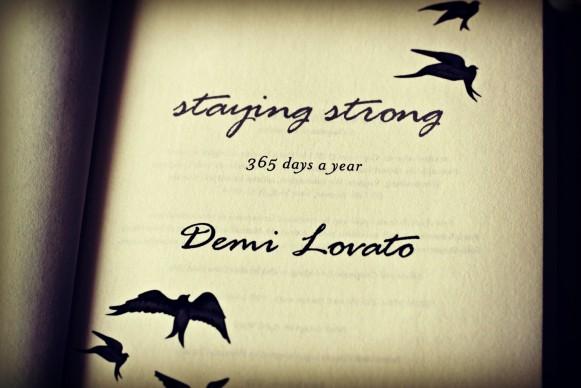 demi lovato book review