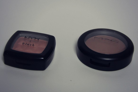 nyx angel and mac harmony blush