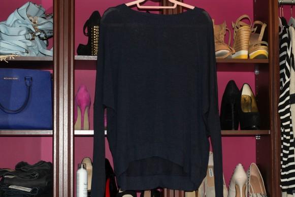 Zara VISCOSE BOAT NECK T-SHIRT