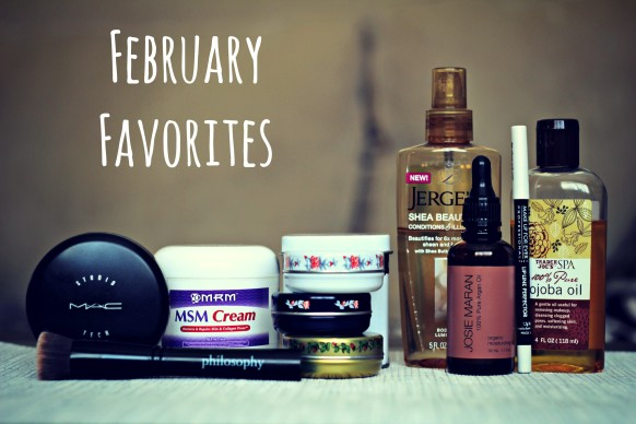 Monthly favorites beauty blog