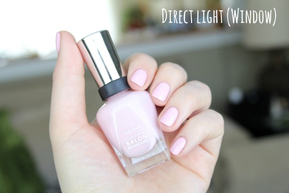 Sally Hansen Pink a Card swatch and review
