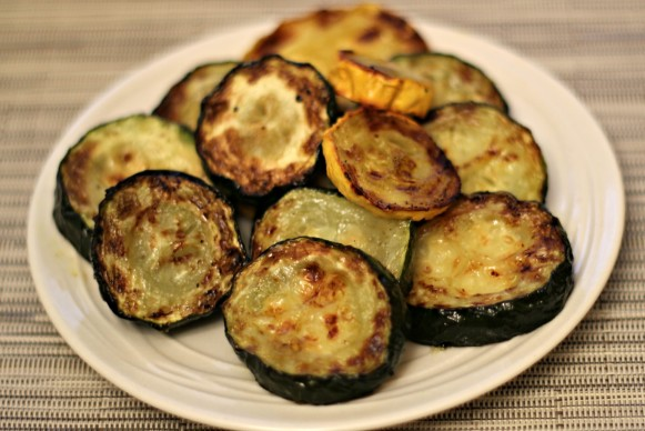 baked zuchini