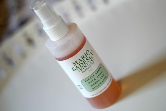 Mario Badescu Facial spray review blog