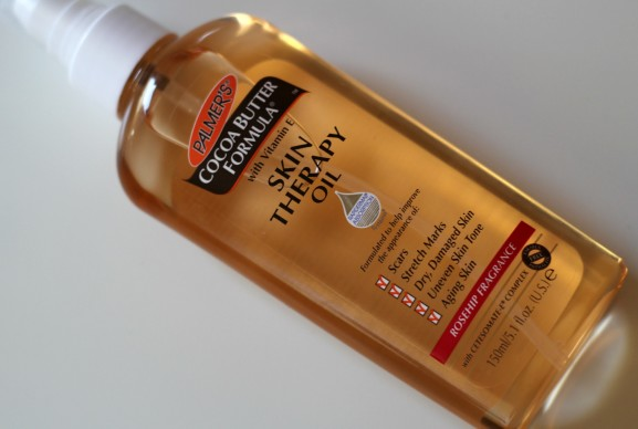 Palmer's cocoa butter skin therapy oil rosehip fragrance review