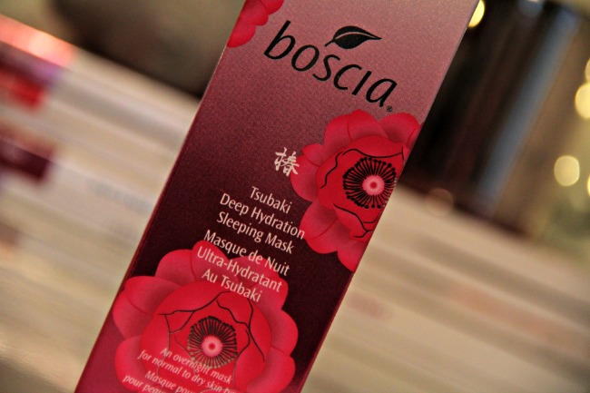boscia tsubaki deep hydration sleeping mask review blog
