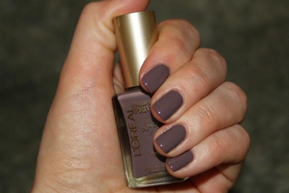 l'oreal liya's nude nail polish