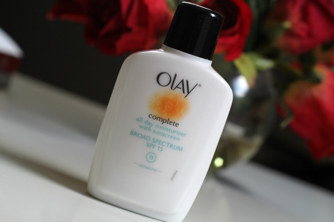 olay complete all day moisturizer with sunscreen