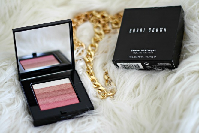 Bobbi Brown shimmer brick in rose review