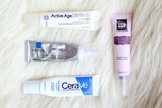 Drugstore eye creams