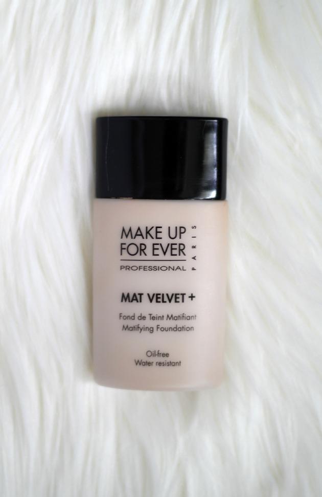 Makeup for ever mat velvet foundation