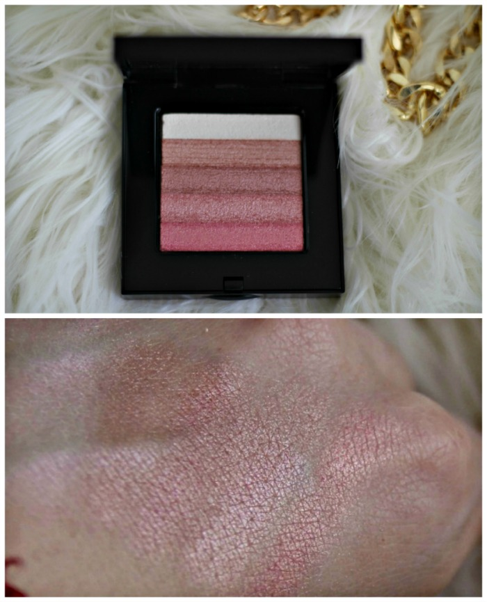 shimmer brick in rose swatch
