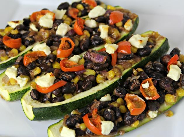 vegetarian zucchini lunch ideas