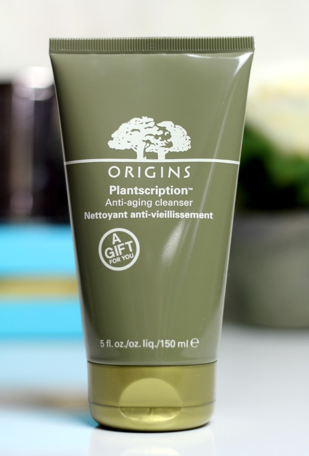Origins plantscription cleanser review