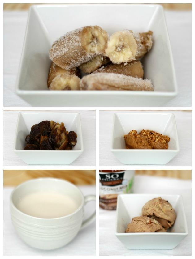 healthy caramel milkshake recipe dairy free
