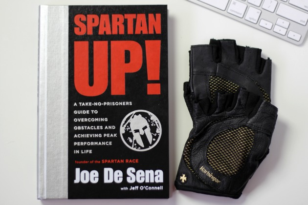 spartan up book