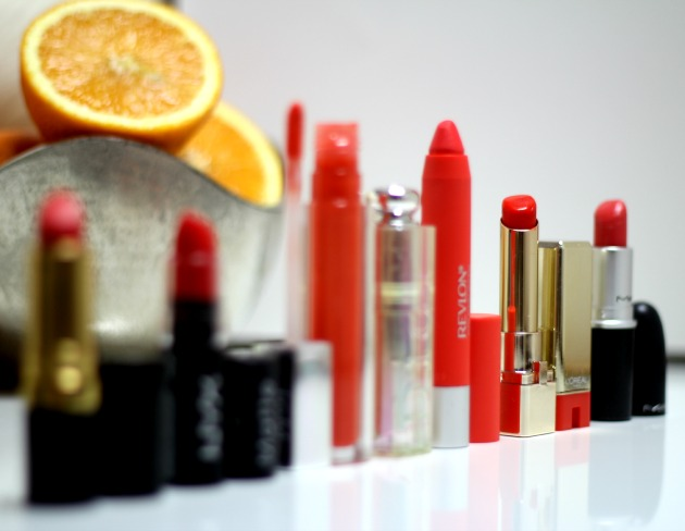best orange lipsticks