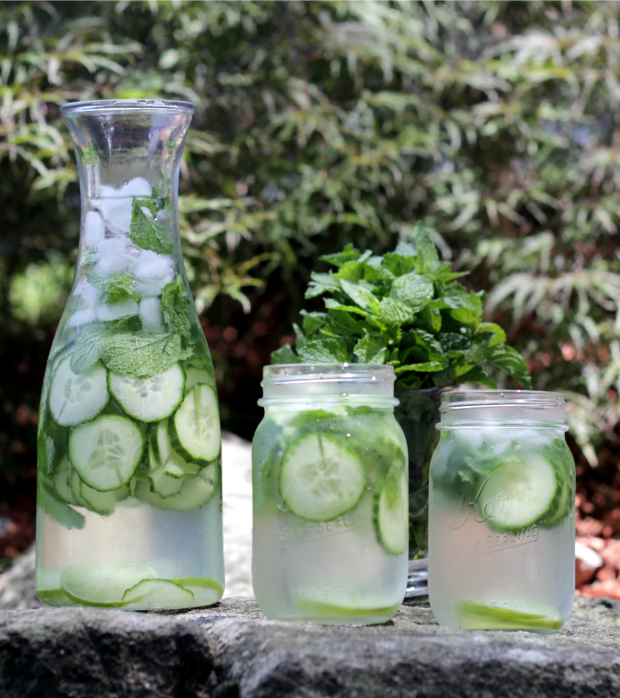 cucmber infused water recipe