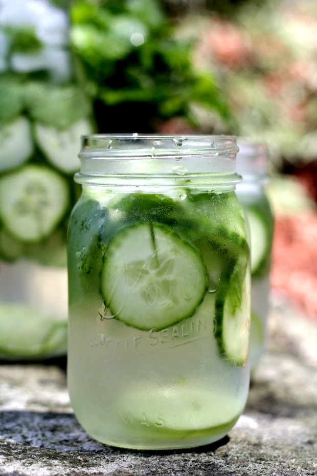cucumber and mint water recipe