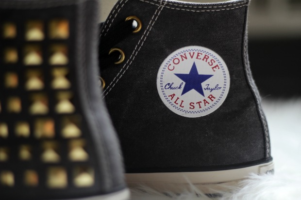 spiked chuck taylors