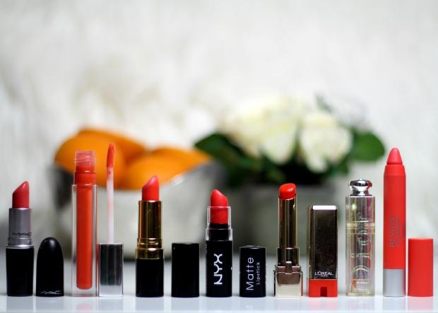 the best orange lipsticks