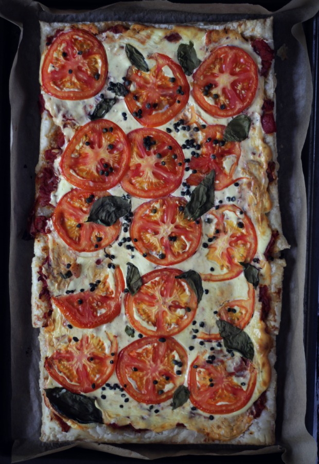 tomato basil and goat cheese tart recipe