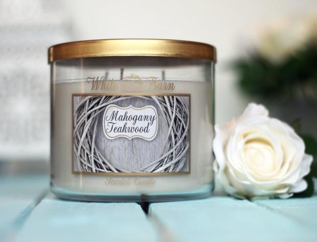 Mahogany Teakwood candle