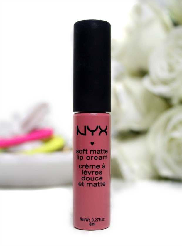 NYX Soft Matte Lip Cream in Milan: Swatch & Review