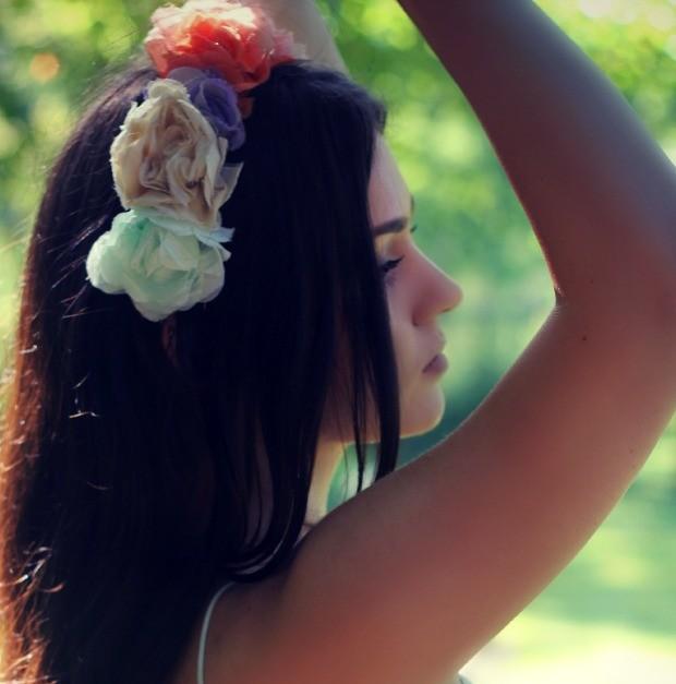 zara flower crown