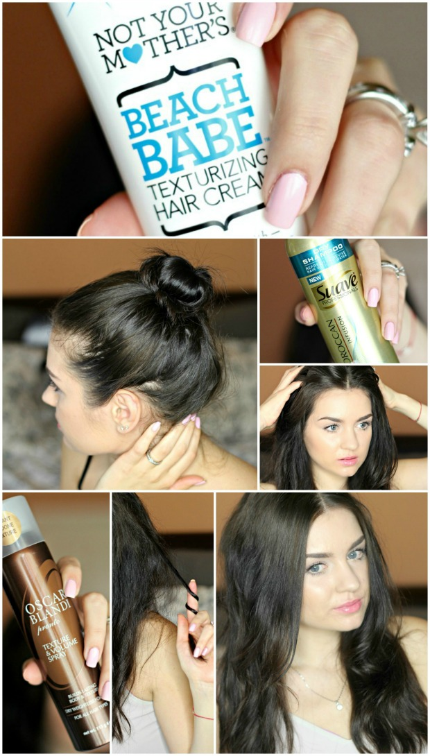 how to get bed head hair tutorial