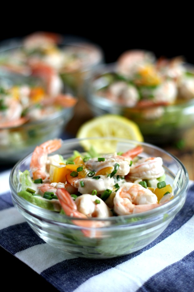light shrimp salad recipe