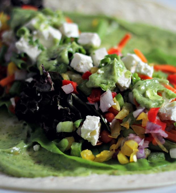 veggie wrap recipe