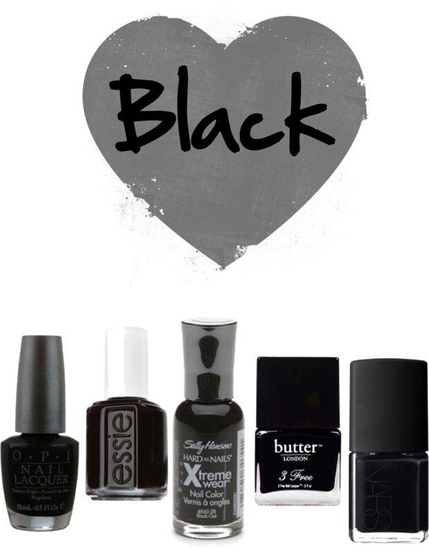 Black Nail Polishes For Fall2014