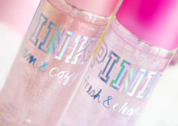 PINK Fresh & Clean Shimmer Body Mist