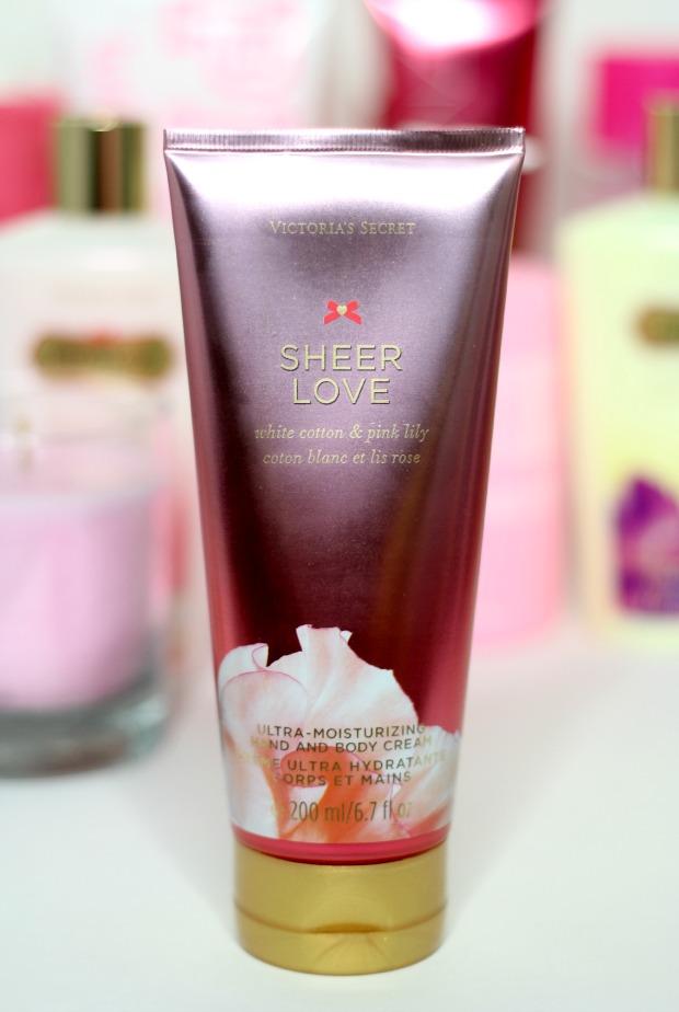 Sheer love lotion victorias secret