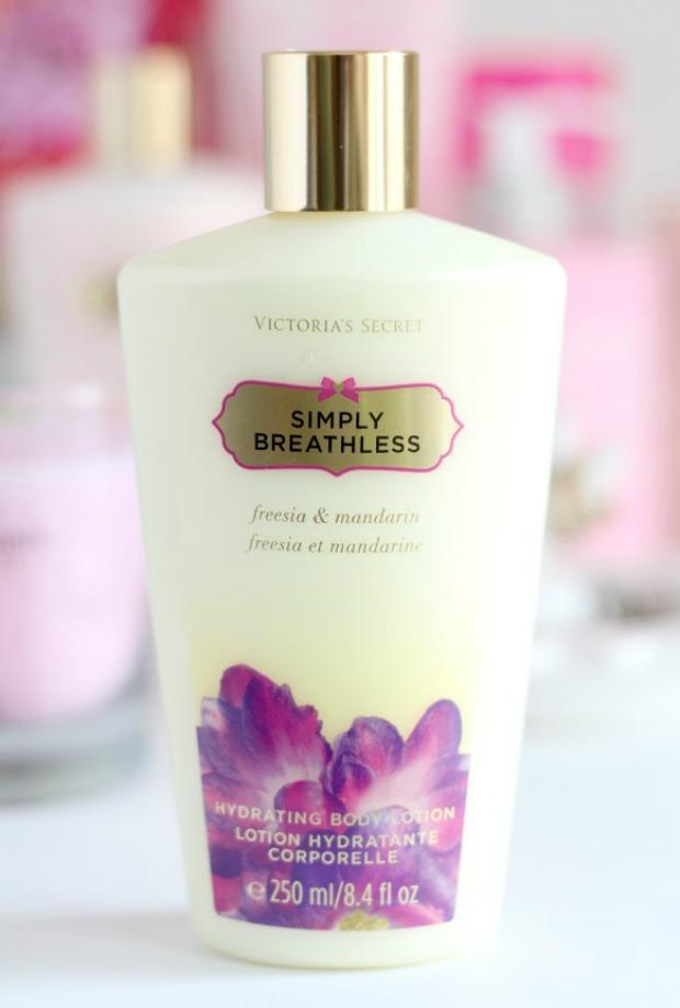 aaf5d2f5d3 Victoria s Secret Beauty Haul. VS Fantasies Simply Breathless Hydrating Body  Lotion ...