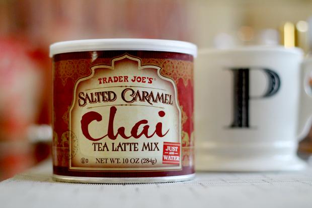 chai latte salted caramel trader joes