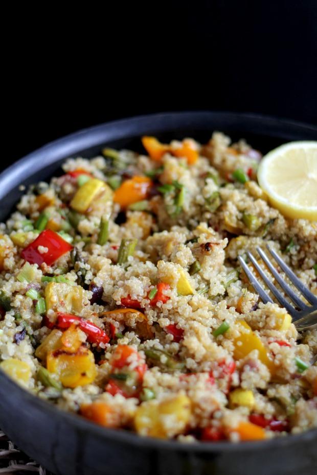 quinoa dinner recipe