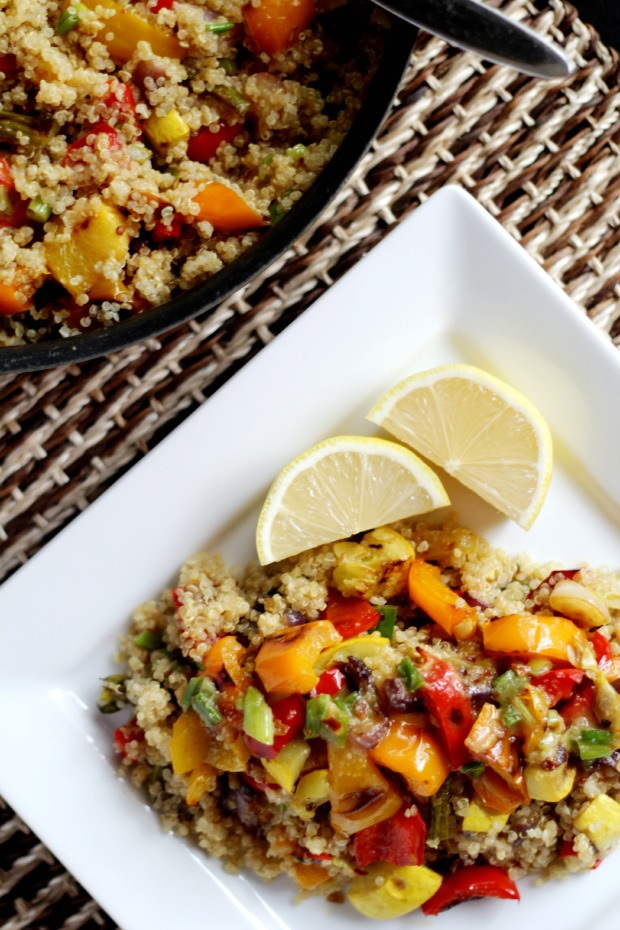 roasted veggies and quinoa recipe