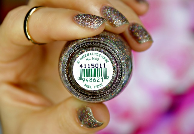 OPI my voice is a little norse swatch and review