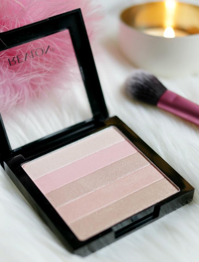 Revlonrevlon highlighting palette rose glow